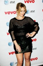 HILARY DUFF at All About You Music Video Premiere in New York