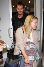 HILARY DUFF at Los Angeles International Airport 0509