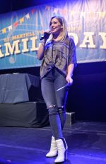 HILARY DUFF at T.J. Martell Foundation