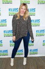 HILARY DUFF at The Elvis Duran Z100 Morning Show in New York