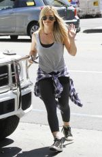 HILARY DUFF Out and About in West Hollywood 0309
