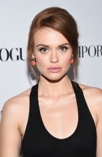 HOLLAND RODEN at 2014 Teen Vogue Young Hollywood Party in Beverly Hills
