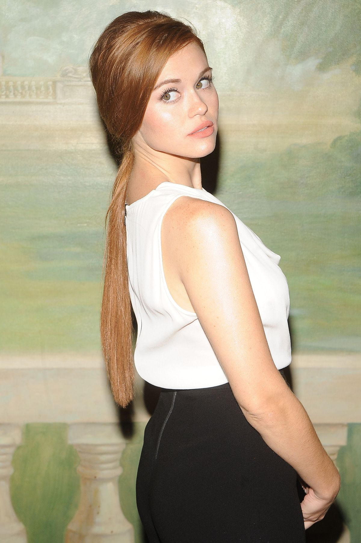 HOLLAND RODEN at Alice+Olivia by Stacey Bendet Fashion Show in New York