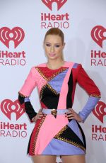 IGGY AZALEA at 2014 Iheartradio Music Festival in Las Vegas