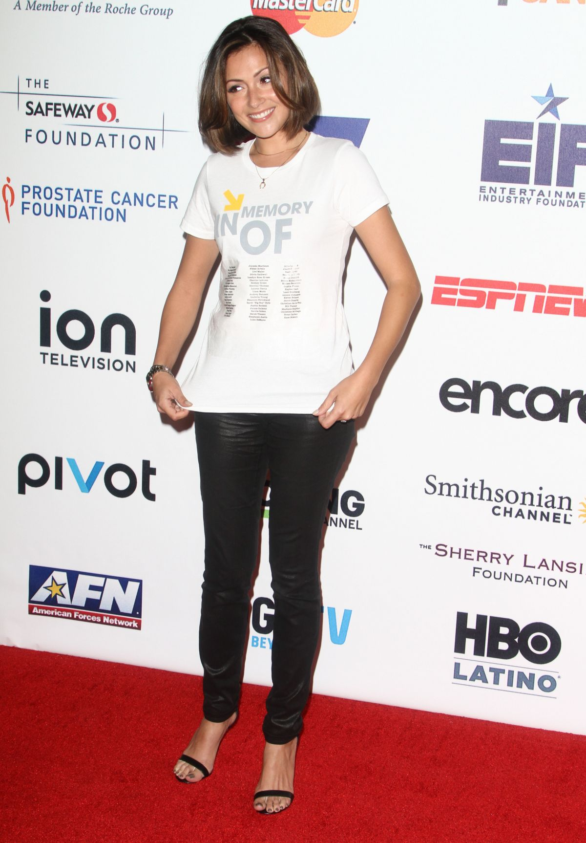 ITALIA RICCI at Stand Up 2 Cancer Live Benefit in Hollywood