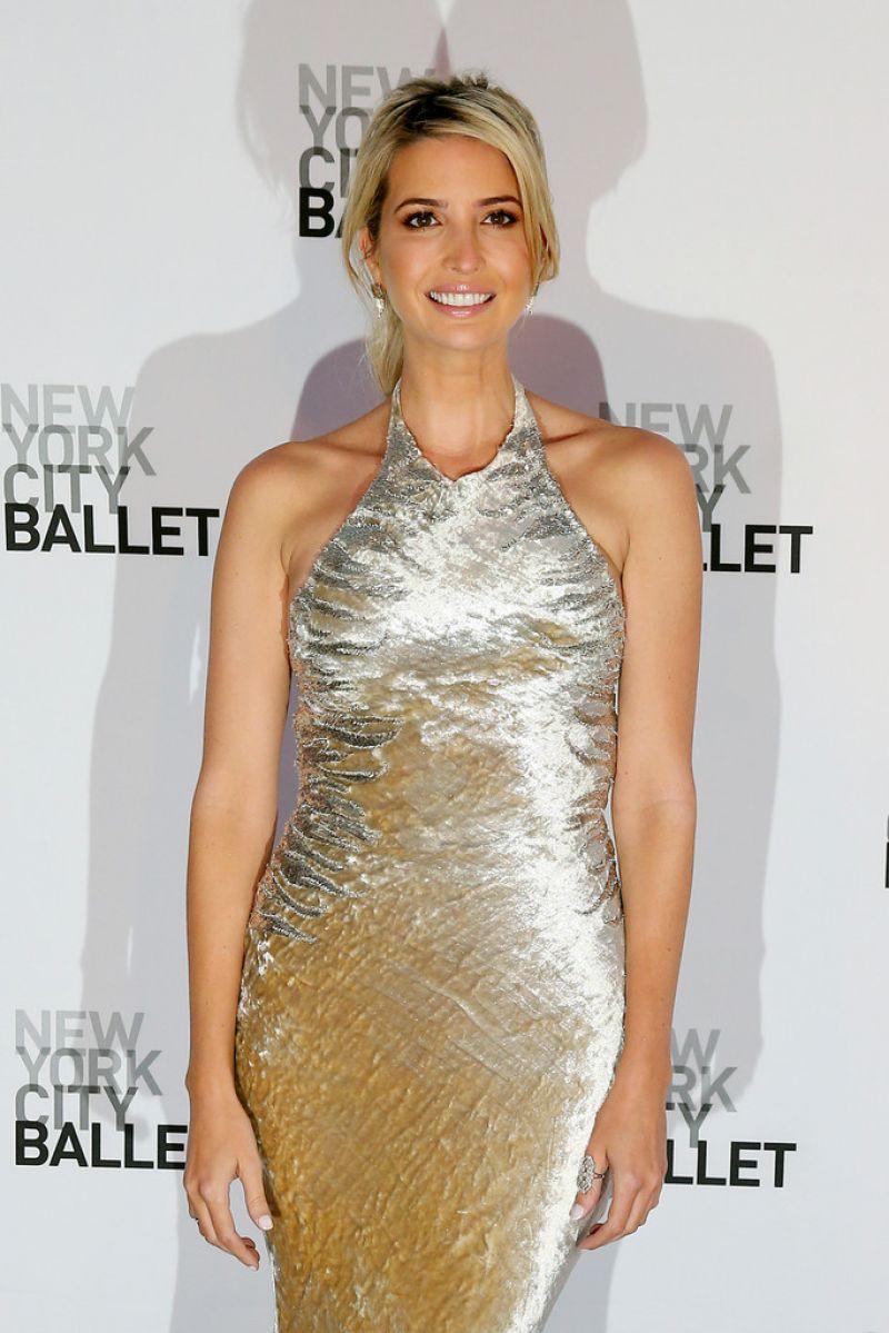 IVANKA TRUMP at New York Ballet 2014 Fall Gala at Lincoln Center