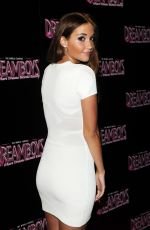 JACQUELINE JOSSA at Dreamboys Fit and Famous Tour 2014 in London