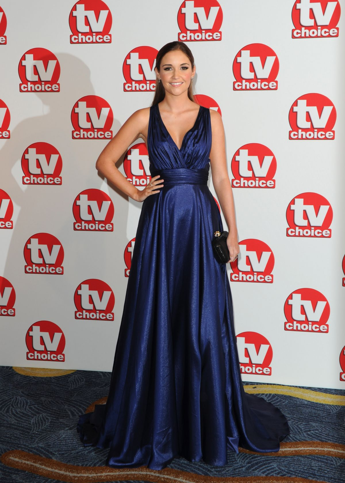 JACQUELINE JOSSA at TV Choice Awards 2014 in London