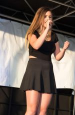 JACQUIE LEE Performd at Tysons Corner Plaza