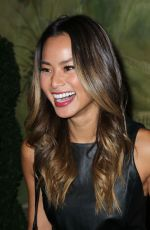 JAMIE CHUNG at Alice+Olivia by Stacey Bendet Fashion Show in New York