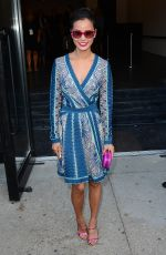 JAMIE CHUNG at Diane Von Frustenberg Fashion Show in New York