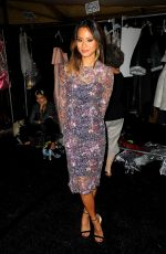 JAMIE CHUNG at Monique Lhuillier Fashion Show in New York