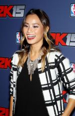 JAMIE CHUNG at NBA 2k15 Launch Celebration