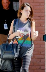 JANEL PARISH Leaves DWTS Rehersal in Los Angeles