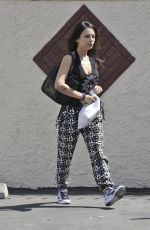 JANEL PARRISH Arrives at Dancing With The Stars Rehearsal in Los Angeles 2109