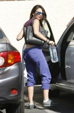 JANEL PARRISH Arrives at DWTS Rehearsals in Los Angeles