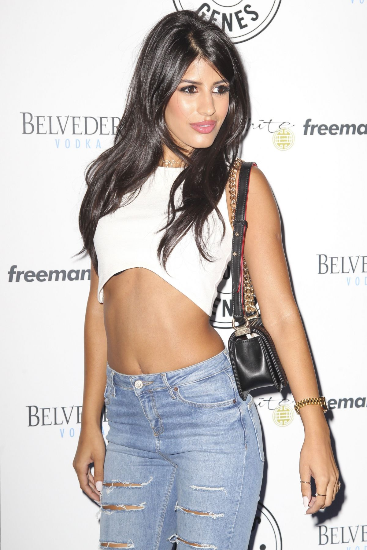 JASMIN WALIA at Jeans for Genes Day in London