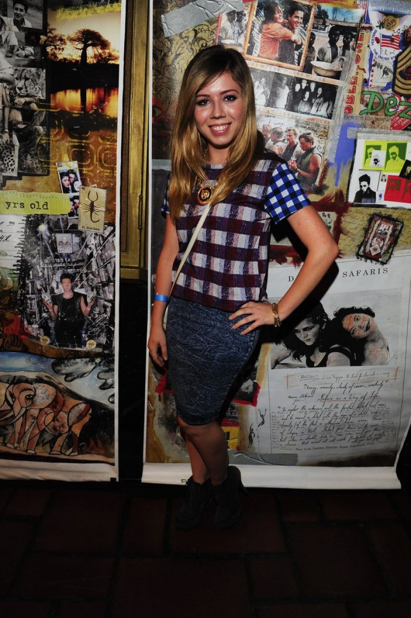 JENNETTE MCCURDY at Art of Elysium Genisis Event