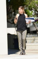 JENNETTE MCCURDY Out and About in Los Angeles