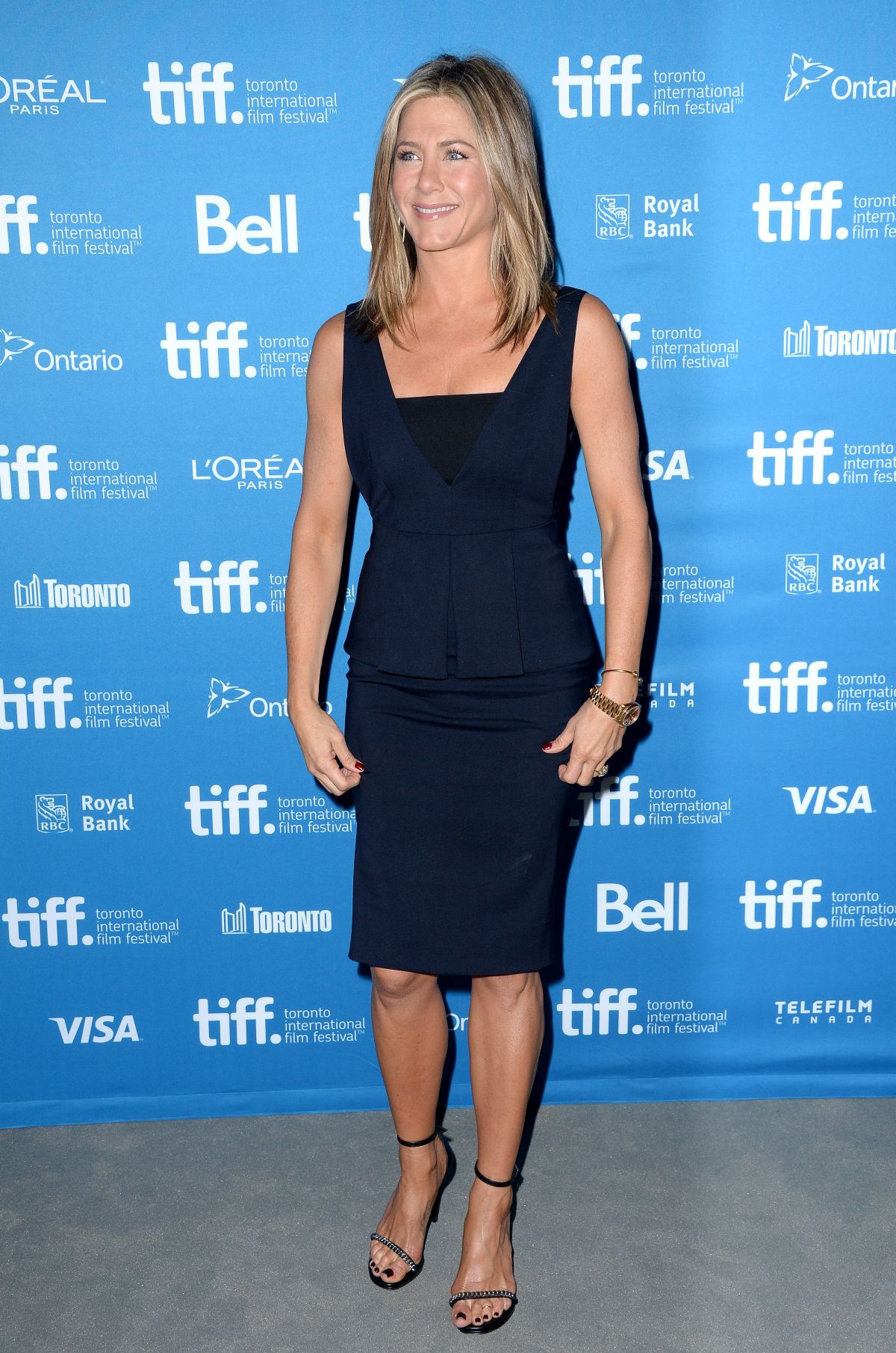 JENNIFER ANISTON at The Imitation Game Press Conference in Toronto