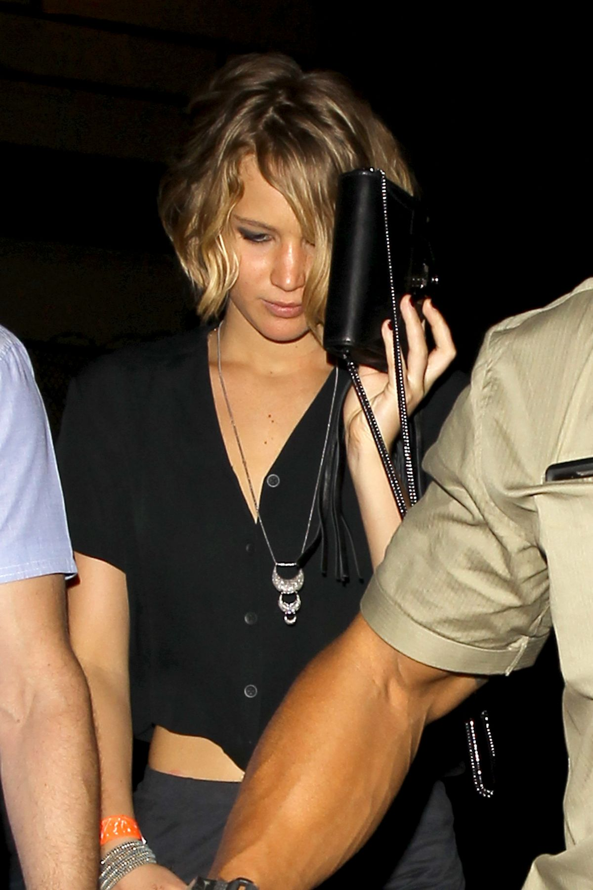JENNIFER LAWRENCE Leaves The Coldplay Concert in Los Angeles