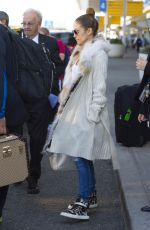 JENNIFER LOPEZ Arrives at JFK Airport in New York