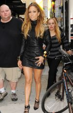 JENNIFER LOPEZ at a Set of Music Video in Manhattan