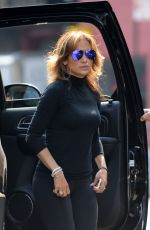 JENNIFER LOPEZ Out and About at Meatpacking District in New York