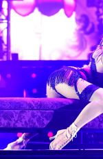 JENNIFER LOPEZ Performs at a Concert in Singapore