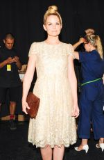 JENNIFER MORRISON at Monique Lhuillier Fashion Show in New York