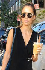 JESSICA ALBA Arrives at Her Hotel in Manhattan 2709
