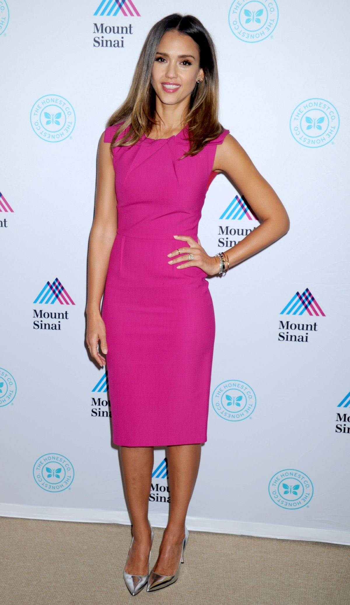 JESSICA ALBA at Unveils Honest Company