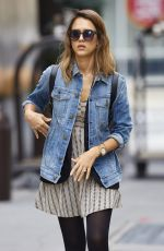 JESSICA ALBA Out and About in New York 1109