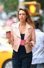 JESSICA ALBA Out and About in New York 1309