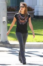 JESSICA ALBA Out and About in Santa Monica 1909