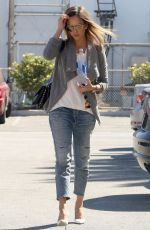 JESSICA ALBA Out and About in Santa Monica 2309