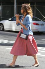 JESSICA ALBA Out in New York 1209