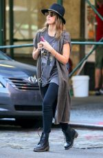 JESSICA ALBA Out Shopping in New York 2709