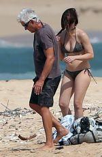 JESSICA BIEL in Bikini on the Beach in Maui