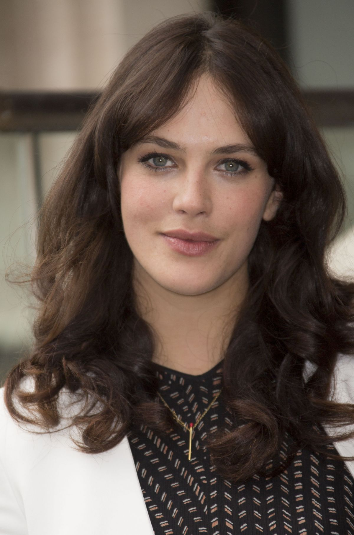 JESSICA BROWN-FINDLAY at The Riot Club Photocall in London