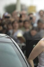 JESSICA CHASTAIN Arrives at Maria Cristina Hotel in San Sebastian