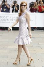 JESSICA CHASTAIN at 62nd San Sebastian Film Festival in Spain
