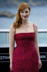 JESSICA CHASTAIN at Disappearance of Eleanor Rigby Photocall in San Sebastian