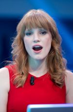JESSICA CHASTAIN at El Hormiguero TV Show in MAdrid
