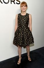 JESSICA CHASTAIN at Michael Kors Fashion Show in New York