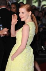 JESSICA CHASTAIN at Salome and Wilde Salome Screening in London