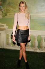 JESSICA HART at Alice+Olivia by Stacey Bendet Fashion Show in New York