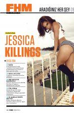 JESSICA KILLINGS in FHM Magazine, Turkey September 2014 Issue
