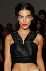 JESSICA LOWNDES at Houghton Fashion Show in New York