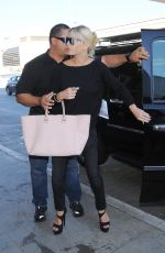 JESSICA SIMPSON at LAX Airport in Los Angeles 2309